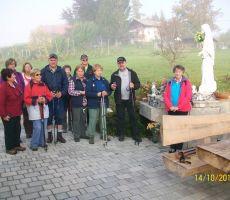 Po Kozlevčarjevi poti PD PT Ljubljana,14.10.2017