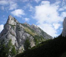 Ojstrica, 2350 m po Kopinškovi poti, 4. september 2010
