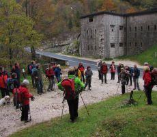LOŠKI SLAPOVI - Skupni izlet s Planinsko skupino PT Nova Gorica, 24. oktober 2010