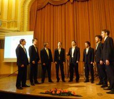 Priznanje Planinske zveze Slovenije našemu dolgoletnemu članu Maksu Želu. Celje, 4. december 2010