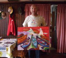 Otvoritev razstave - Slikarska kolonija na Vršiču 2010, 14. december 2010