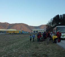 BADJUROVA PLANINSKA POT: Zagorica pri Šmartnem – Tisje – Javorski Pil, 23. januar 2011