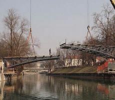 Ljubljana je bogatejša za prenovljen Hradeckega most - 12. maj 2011