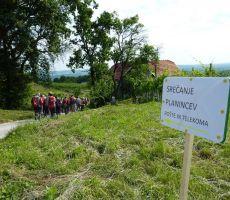 44. srečanje planincev Pošte in Telekoma Slovenije v Halozah, 12. junij 2011