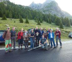 Monte Peralba (2694 m) in Monte Chiadenis (2459 m), 16. julij 2011