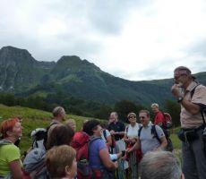 Mrzli vrh (1359 m)  iz vasi Krn, 31. julij 2011