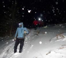Naši vodniki na snežnem izpopolnjevanju, februar 2012