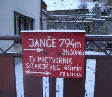 Badjurova planinska pot - zaključek, 5. februar 2012