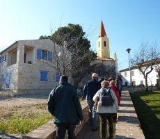Staza sv. Roka, Brtonigla, Hrvaška Istra, 8. marec 2012