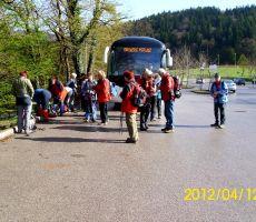 Arheološka pot Dolenjske toplice: Gradišče–Cvinger. Četrtek, 12. april 2012