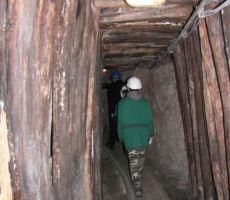 rovi so ostali enaki iz časa, ko je rudnik še deloval