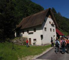 Kosmačeva domačija v Bukovci