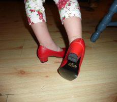 Flamenco čevlji št.26