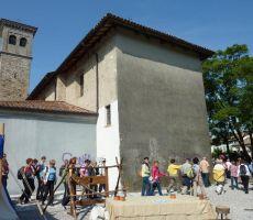 Po Beneški Sloveniji: Čedad - Stara gora - Landarska jama, 27. maj 2012