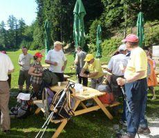 Trakošćan - Ravna Gora (686 m), srečanje z  PD HPT Sljeme Zagreb - 17. julij 2012