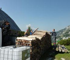 VRŠIČ - Delovna akcija - 6. julij 2012
