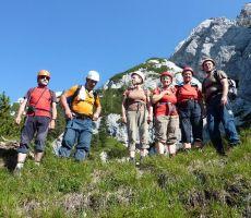 PLANJAVA (2392 m) iz Repovega kota čez Planjavske zelenice - nedelja, 29. julij 2012