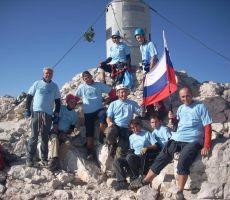 skupinska na vrhuTriglava