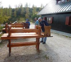 Kako smo zapirali Poštarski dom na Vršiču - petek, 28. septembra 2012