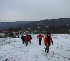 preizkusili smo se tudi v snegu...