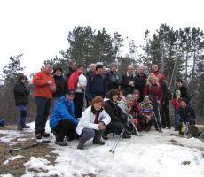 skuinska na vrhu 646m visokega Škabrijela (Sv. Gabrijel)