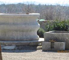 kraški vodnjak in korito