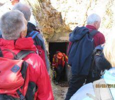 vhod v Klobasjo jamo