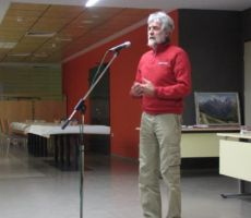 Franc Kogovšek, načelnik Planinsko jamarskega odseka z etnološko sekcijo