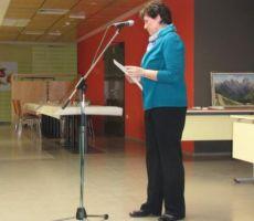 Zdenka Gorenc, podpredsednica finančno poročilo