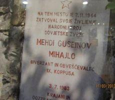 še eden spomenik iz vojnih časov