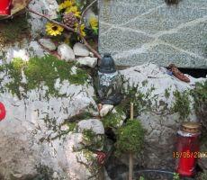 spominsko obeležje Tomažu Humarju v spominskem parku