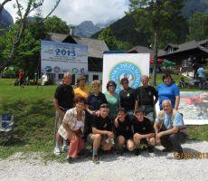 pred uradnim delom so se naši planinci zbrali skupaj