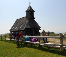 kapelica Marije Snežne na Veliki planini