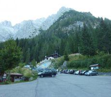 MONTE COGLIANS/HOHE WARTE, 2780 m (Karnijske Alpe, Italija) Ferata »Weg der 26er« - 18. avgust 2013