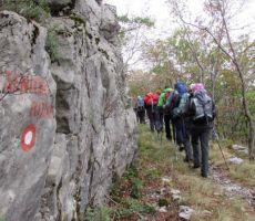 Krožna pot okoli Kamenjaka, 835 m (Gorski kotar - Hrvaška) - četrtek, 12. september 2013
