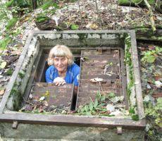 naprej ob poti pa smo si ogledali tudi bunkerje...