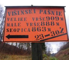 VRŠE, VRH SKOPICE 863m, 24.11.2013