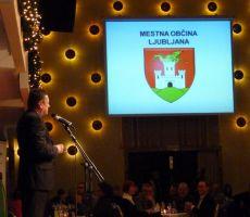 Svečana podelitev priznanj Športne zveze Ljubljane - sreda, 11. december 2013