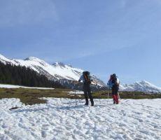 Planinska šola varnejšega gibanja v gorskem svetu: Veliki vrh (2088 m) – nedelja, 30. marec 2014