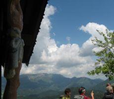 še zadnji pogledi proti Škofjeloškim goram