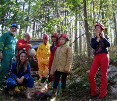 Planinska šola varnejšega gibanja v gorskem svetu: Jama Mačkovica - nedelja, 25. maj 2014