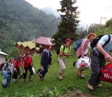Transport prtljage v Ayderju