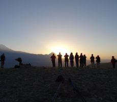 Sončni vzhod med velikim in malim Araratom