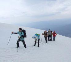 Planinska šola varnejšega gibanja v gorskem svetu: Vajnež (2104 m) - nedelja, 6. april 2014