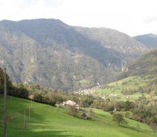 in pogled v dolino na Koritnico...