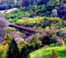 ter na most ki je bil miniran...