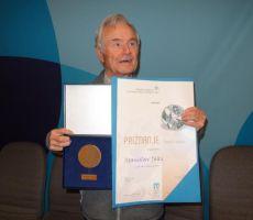 Stanko Jaki prejel priznanje Častni vodnik PZS - 29. november 2014