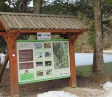 Gozdna in arheološka učna pot Rimski zid Rakitna - četrtek, 12. marec 2015