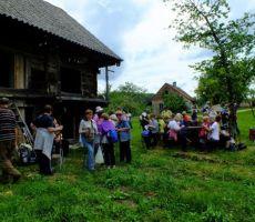 kjer ima Kozjanski park gensko bazo sadnega drevja...
