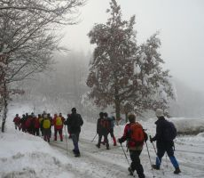 Badjurova planinska pot, 10. januar 2010